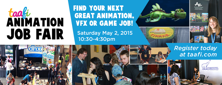 Animation Job Fair May 2, 2015