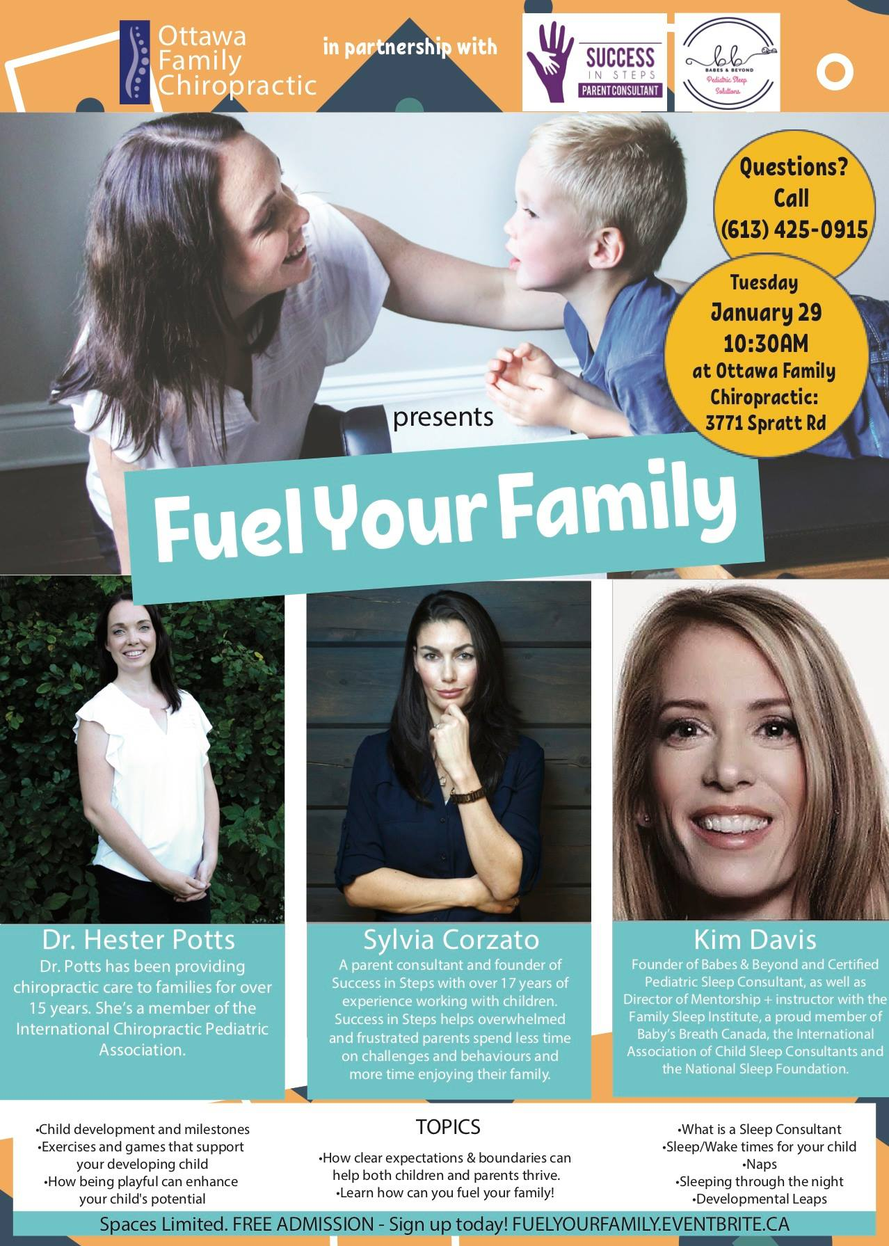 Fuel Your Family Poster