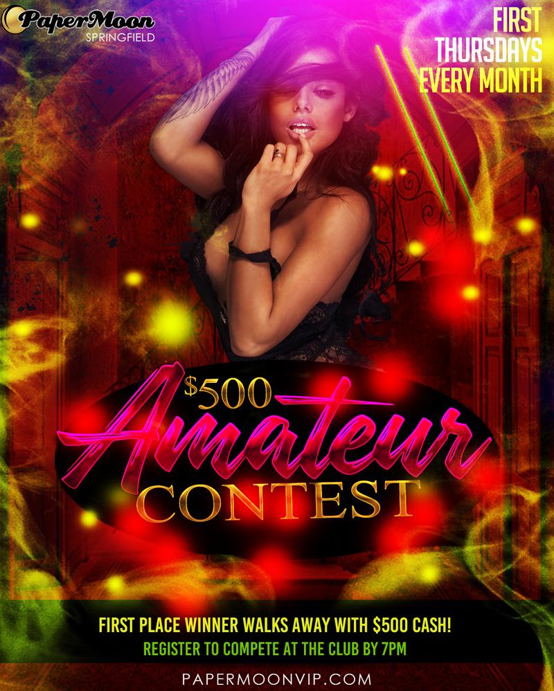 Amateur Night Contest Strip Club