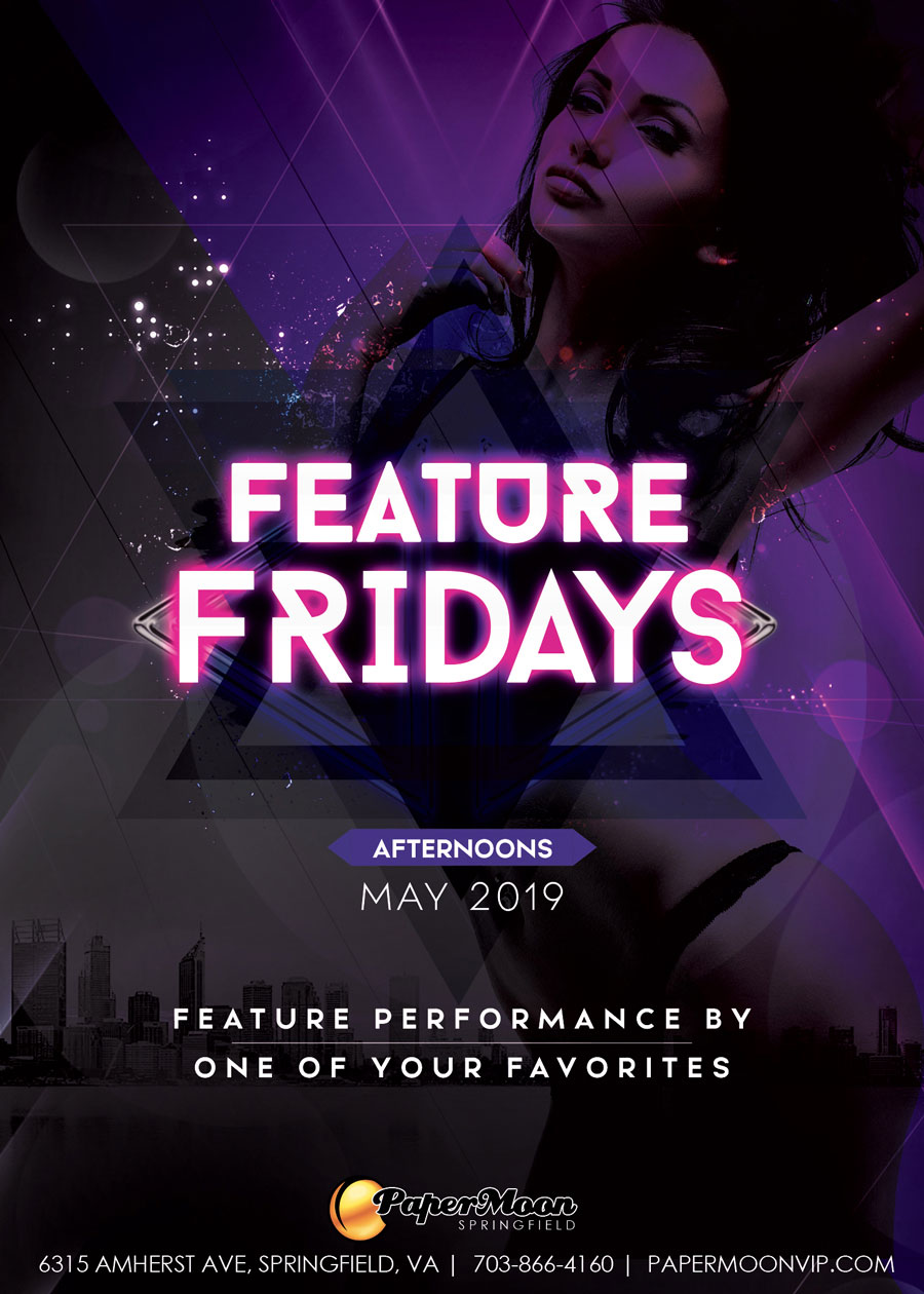 Feature Fridays at PaperMoon Gentlemen's Club