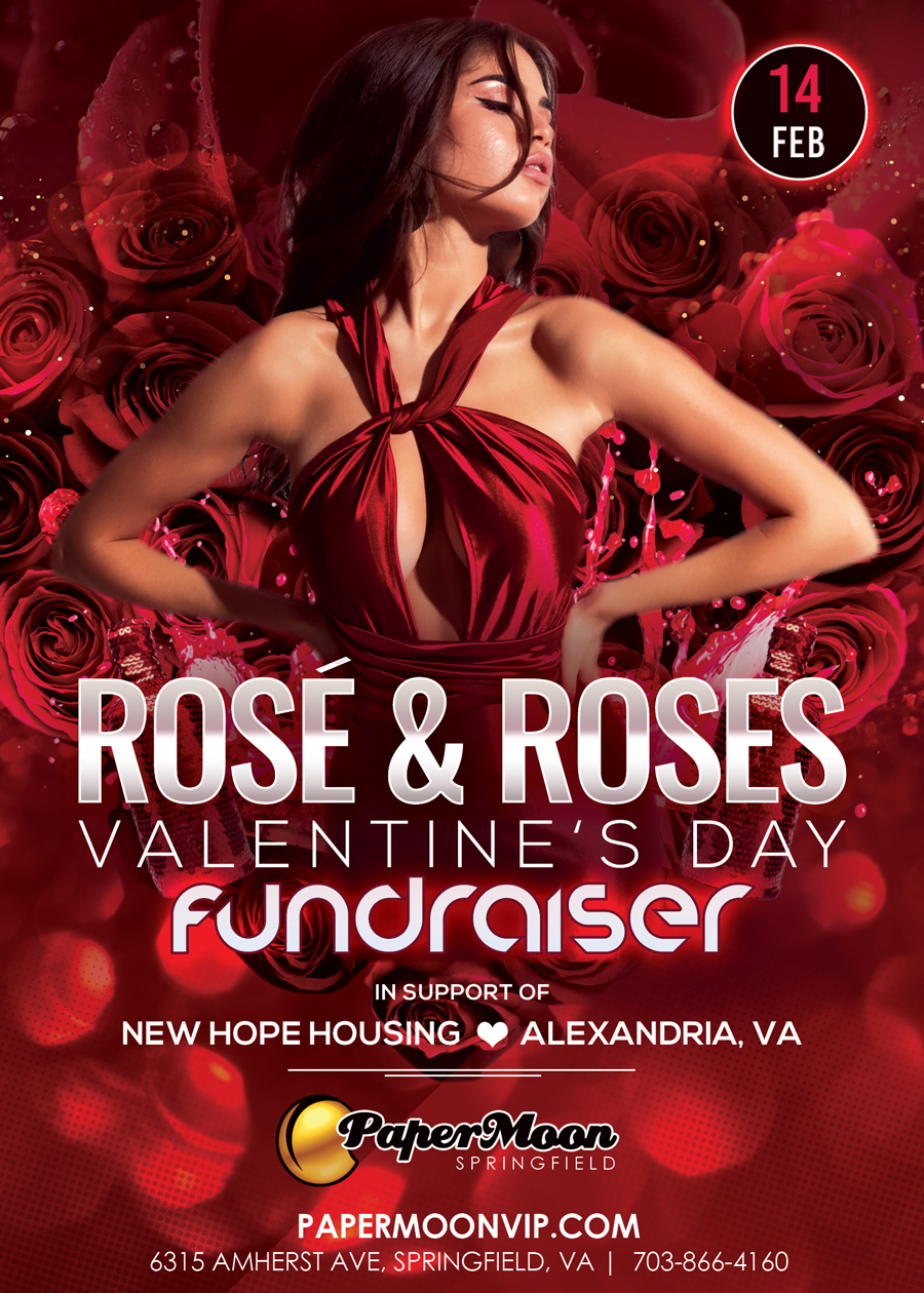 Rose and Roses Valentine's Day Fundraiser