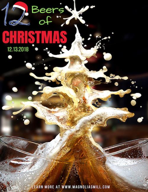 Twelve Beers of Christmas Event