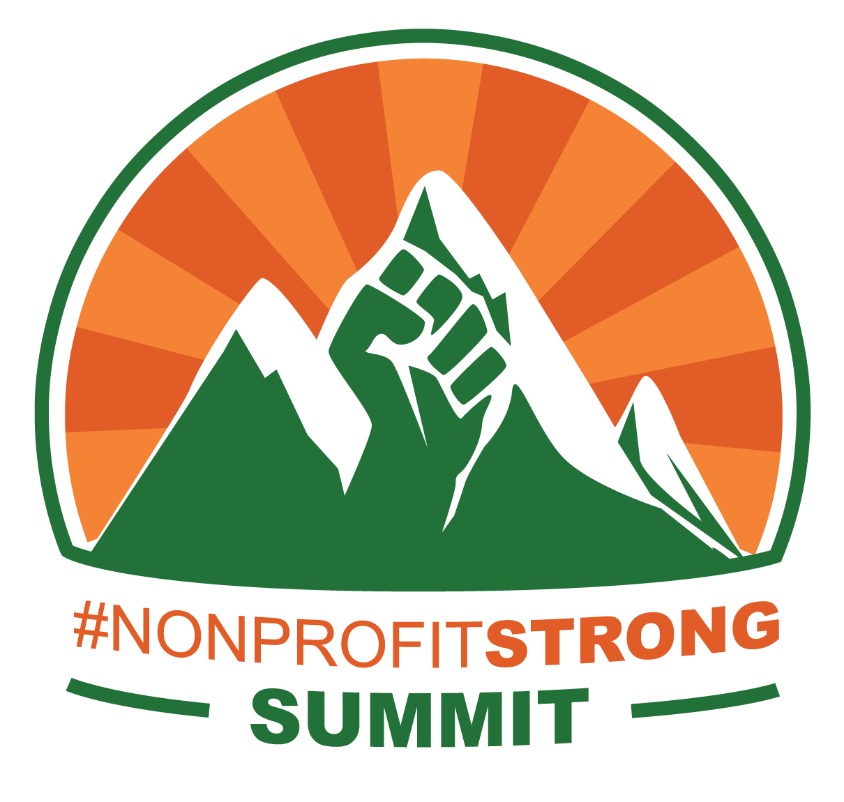 #NonprofitSTRONG Summit Logo