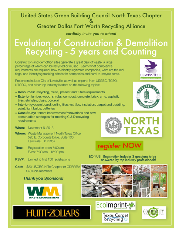 Evolution of C & D Recycling Nov. 6th