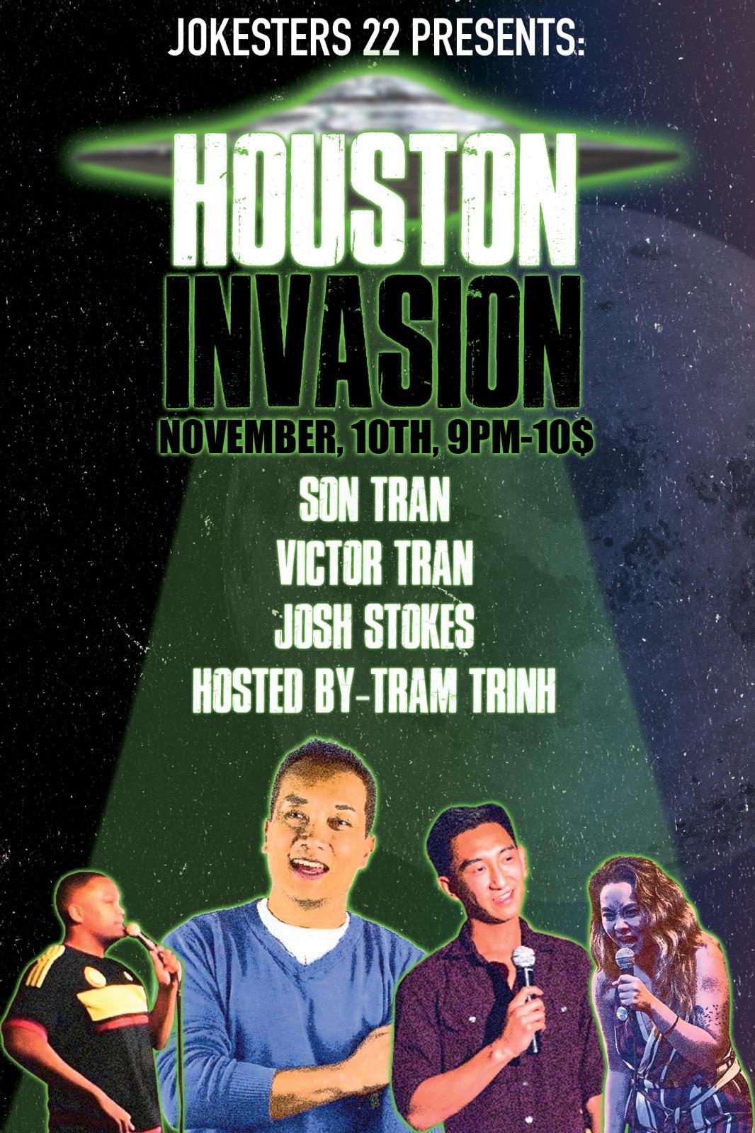 Houston Invasion Comedy Throwdown