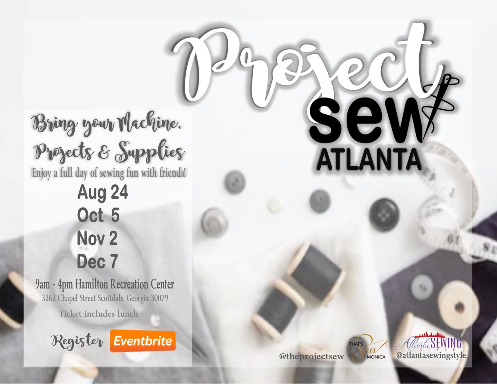 Project Sew Atlanta August Dates