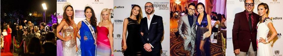 VIP guests at The World Networks Entrepreneur Awards