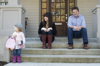 Keith & Kristyn Getty with daughter Eliza Joy