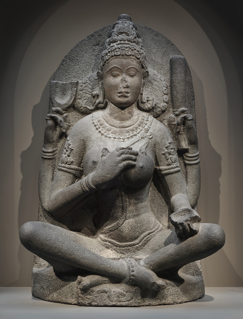 statue of yogini from Tamil Nadu