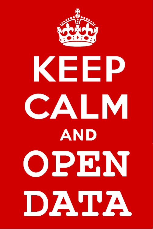 Keep Calm & Open Data