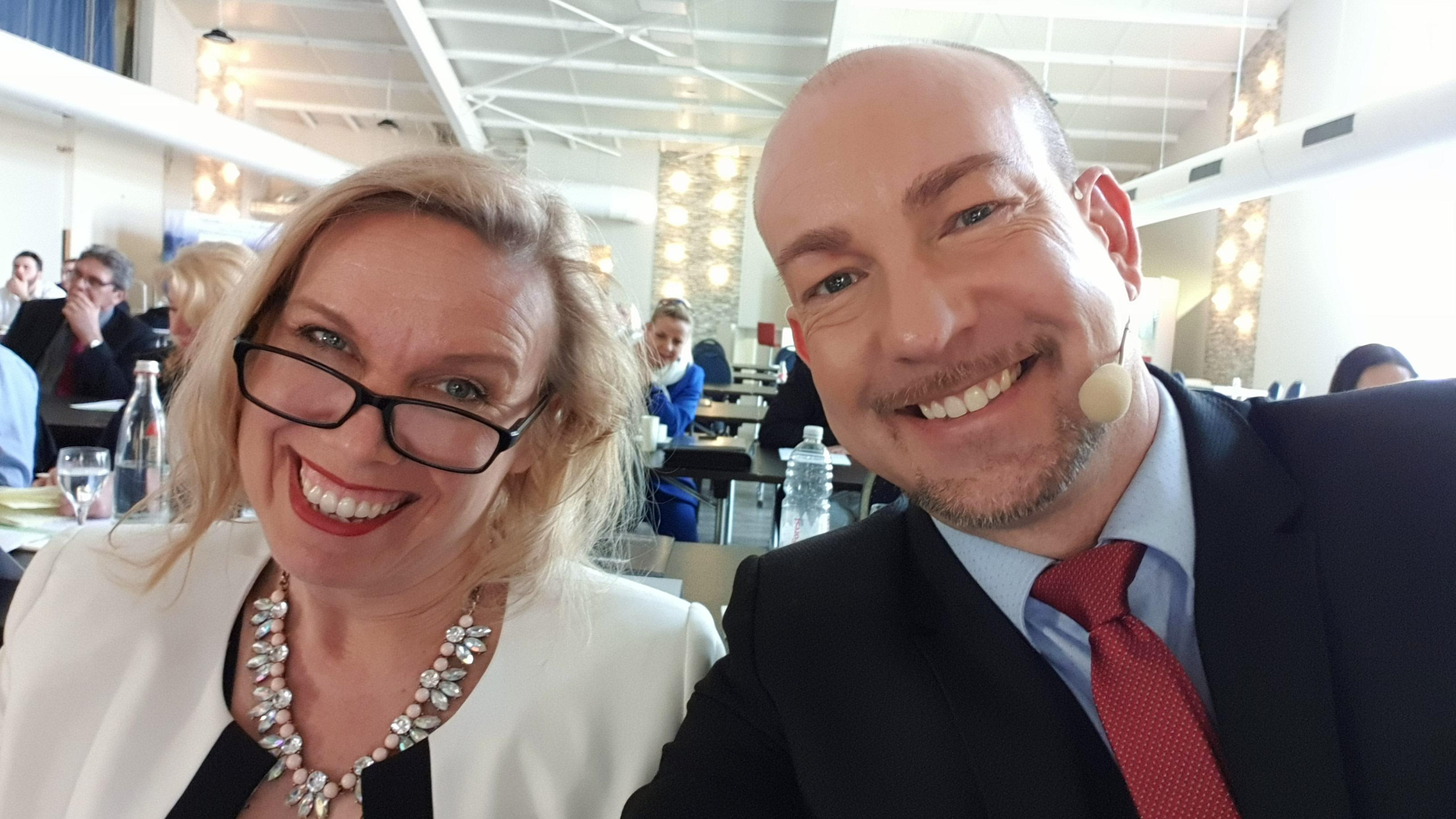Claudia Heilmeyer und Andy Uliczka