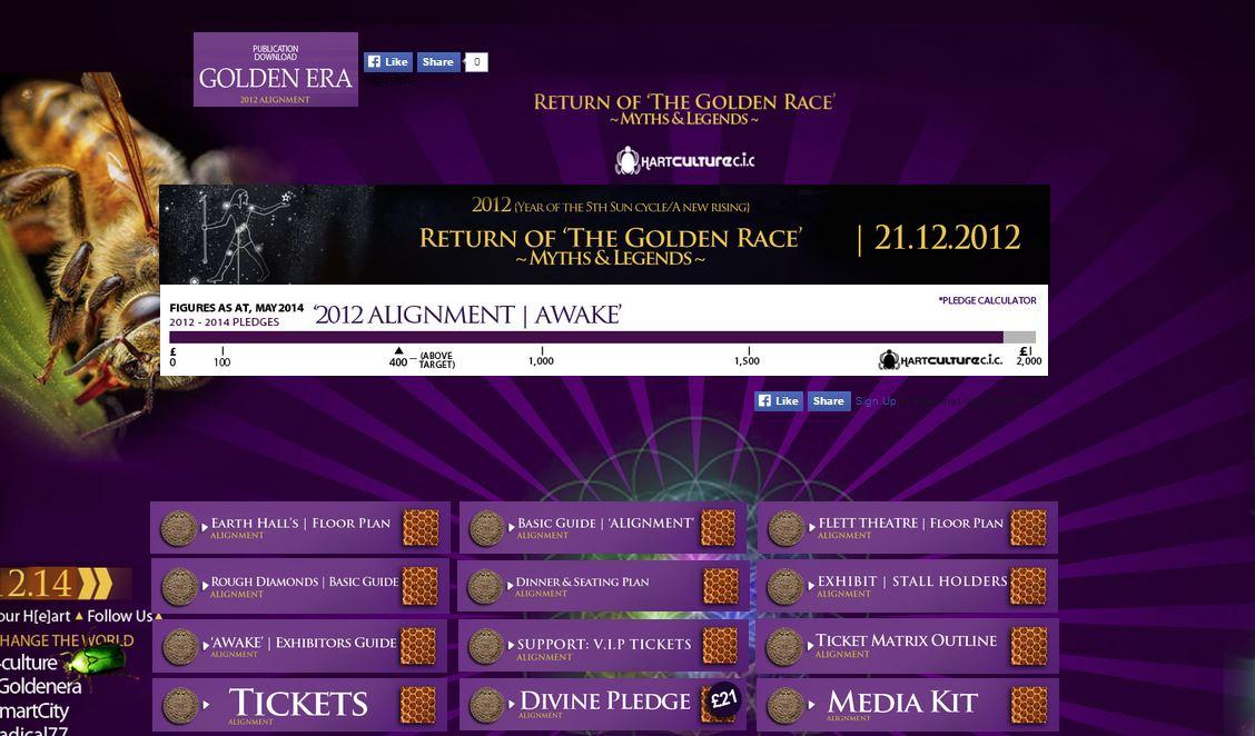 2012 Planetary Alignment & Golden Era Anniversary