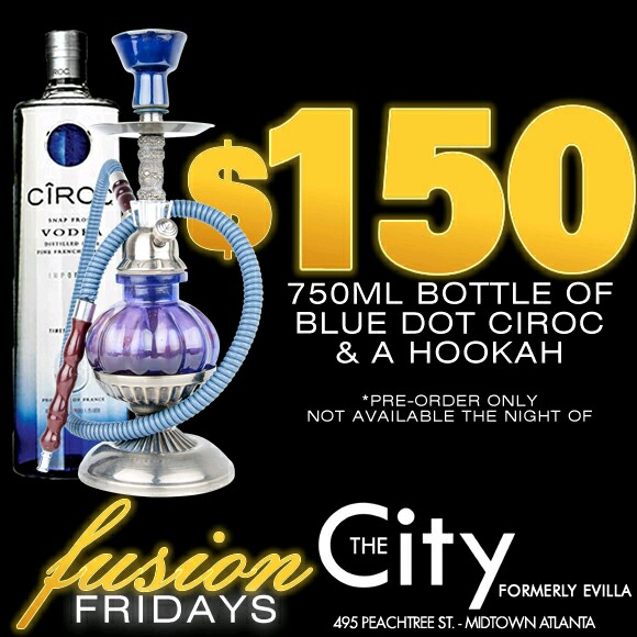 Fusion Fridays Presents Theprettygirlhideout Live At The City Ultra