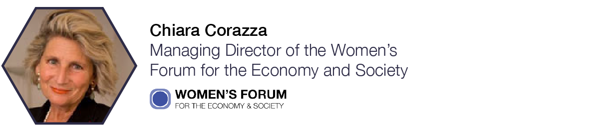 Chiara Carozza  Managing Director of the Women's Forum for the Economy & Society