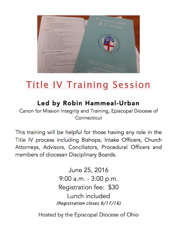 Training Title IV