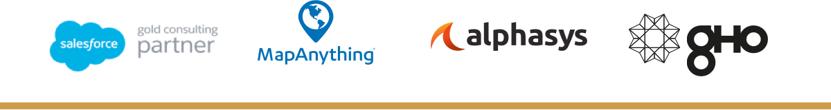 AlphaSys, Salesforce, MapAnything, GHO