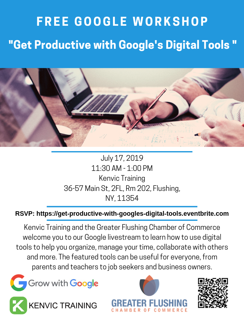 Get Productive with Google's Digital Tools Livestream