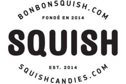 Squish Candies at Square One Mall Logo