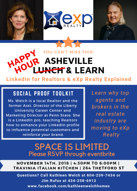 Asheville Exp Lunch And Learn 14 Nov 2018