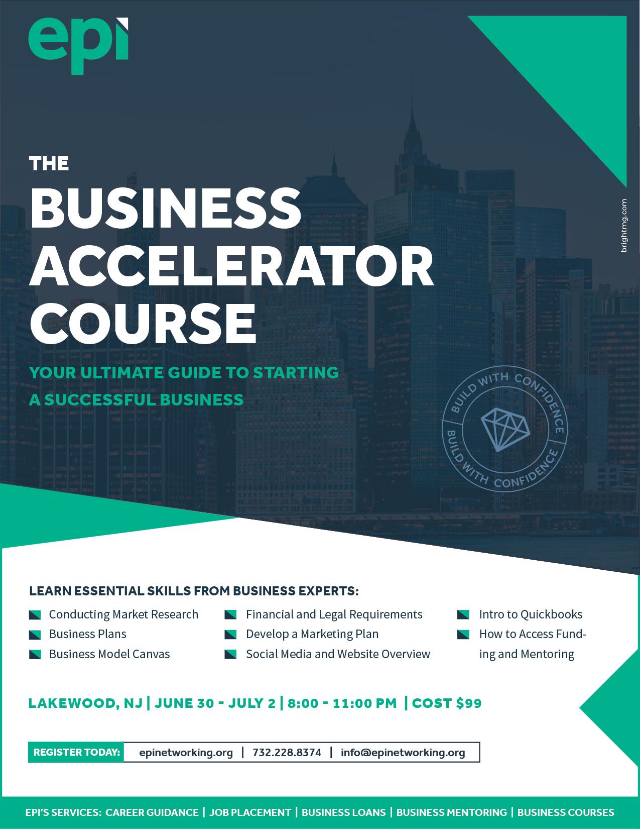 The Business Accelerator Course
