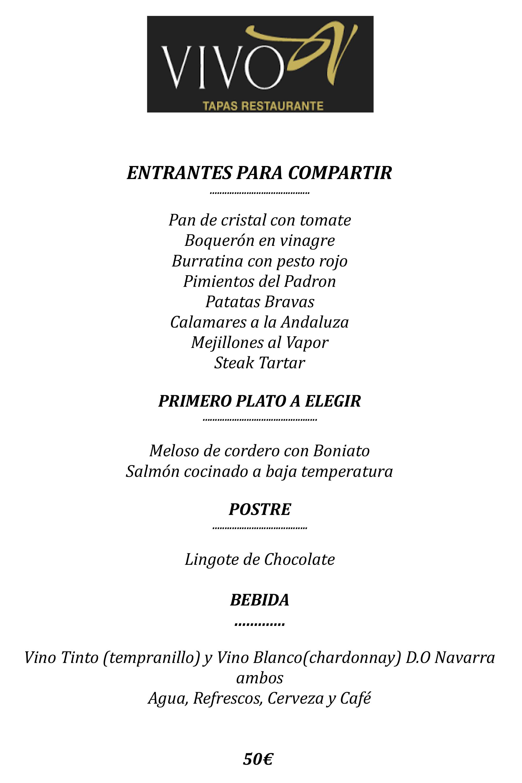 Menú Cena con espectáculo flamenco