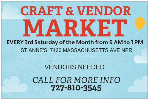 Craft & Vendor Market and Health Fair Tickets, Multiple
