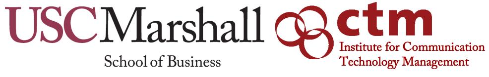 USC Marshall and CTM logos