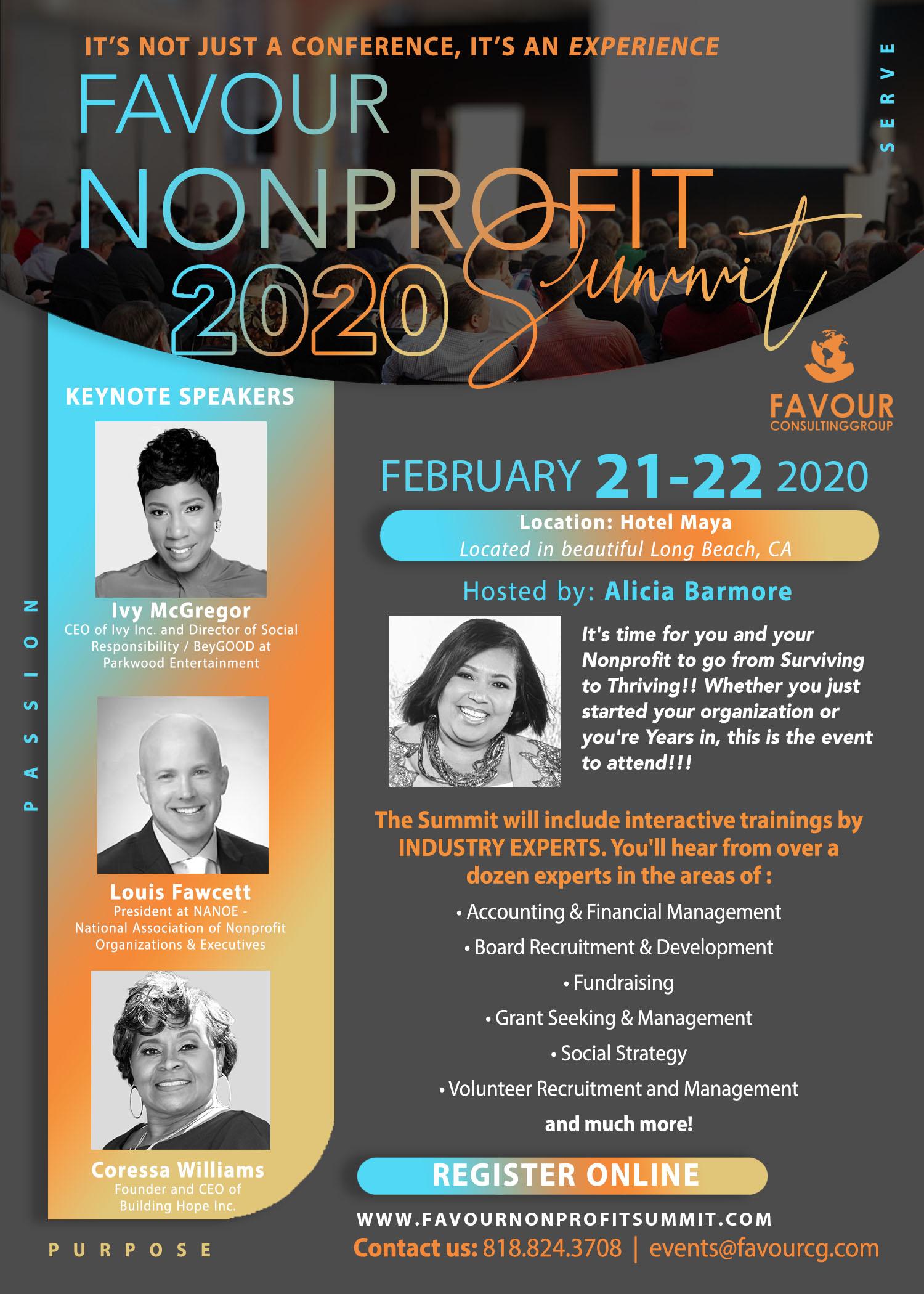Favour Nonprofit Summit