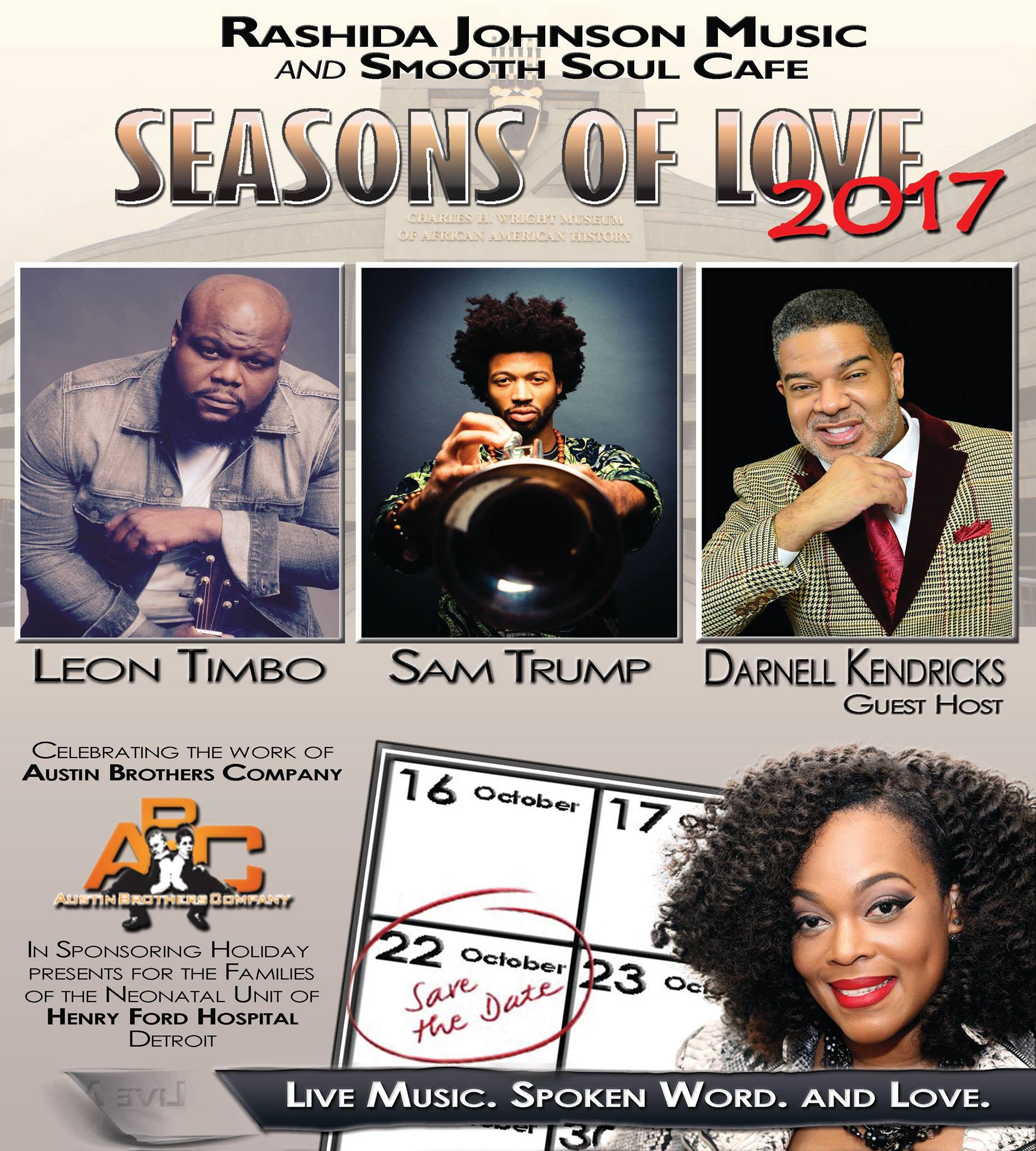 Seasons of Love Save the Date