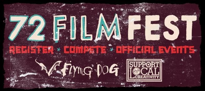 72 Film Fest banner