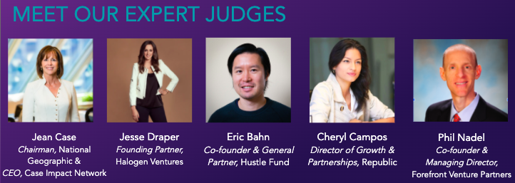 Expert Judges Startup of the Year May 28