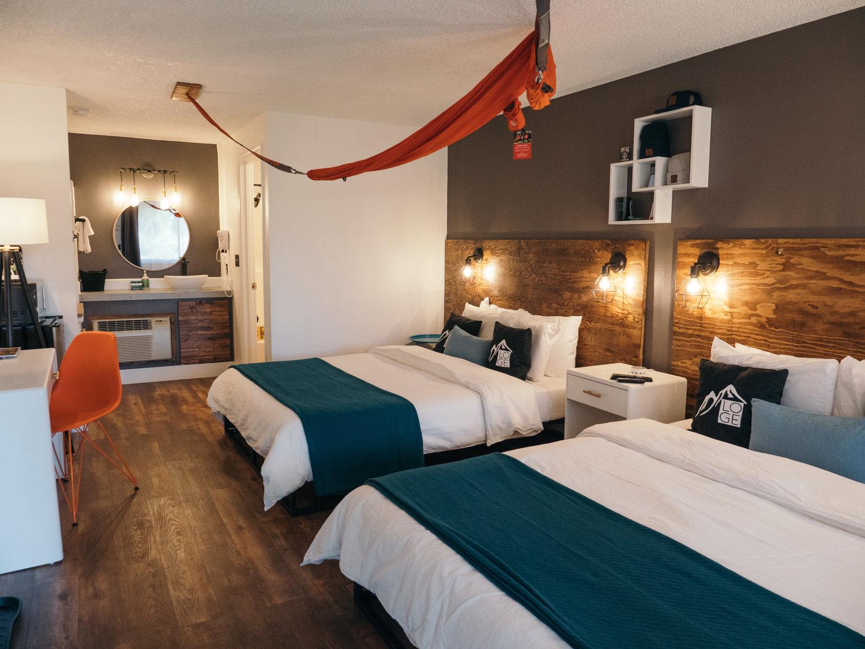 Loge Double Queen Room