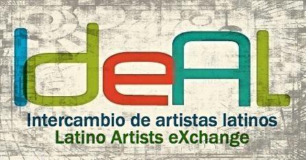 LAX IdeAL logo, Latino Artists eXchange