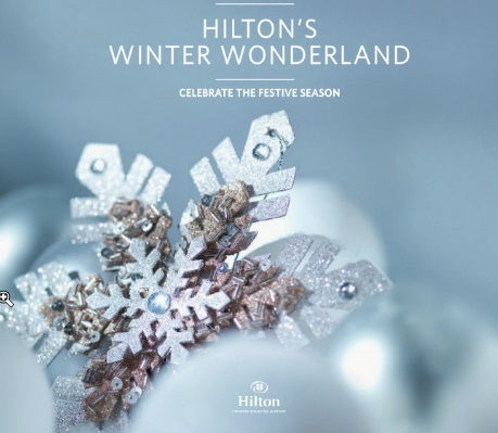 Christmas Hilton London Stansted
