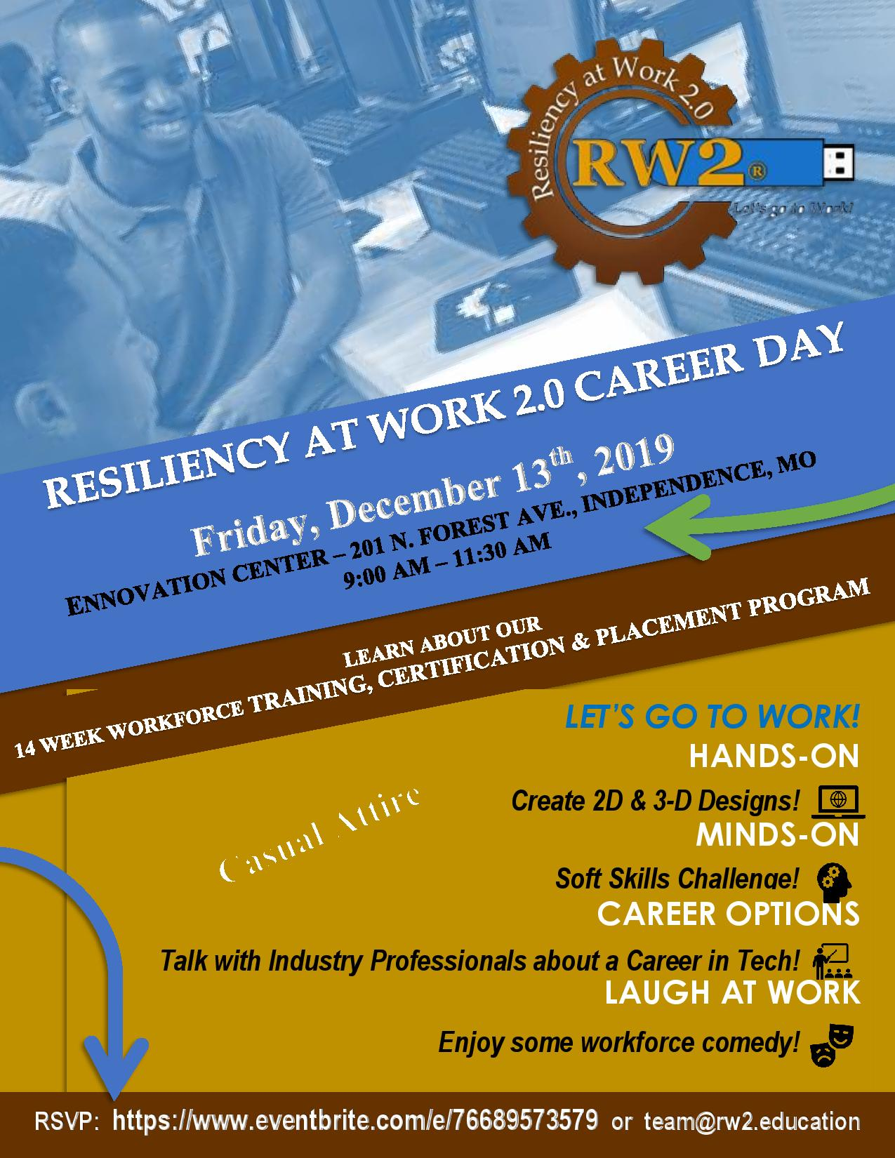 Career Day Event Flyer