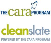 Cara Program and Clean Slate Logo