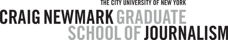 Newmark Journalism logo