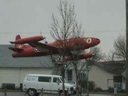 Red Airplane on Avenue C