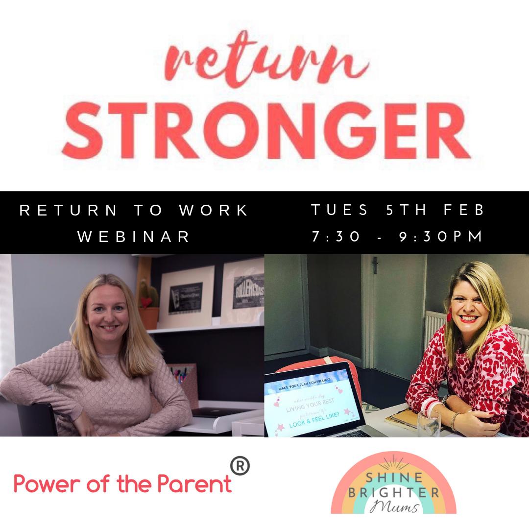 Return Stronger Webinar