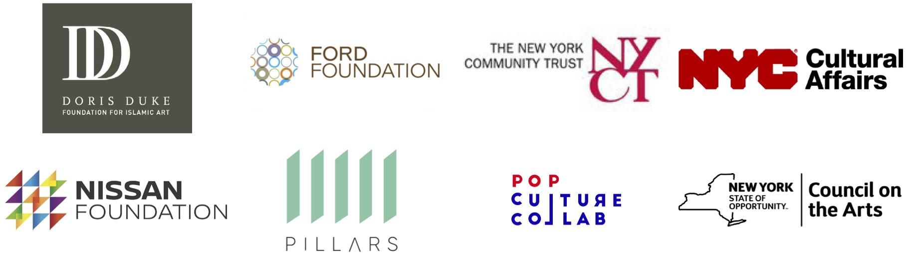 Muslims in Brooklyn Funder Logos