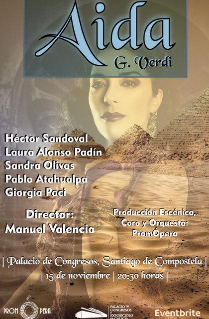 Aida de Verdi en Santiago de Compostela