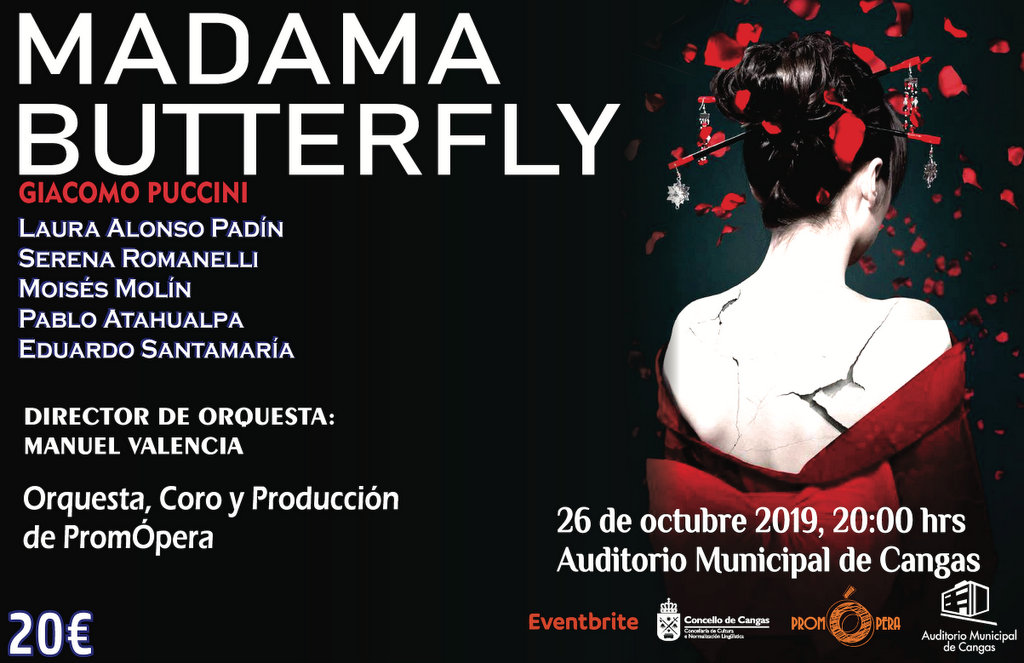 madame butterfly en cangas