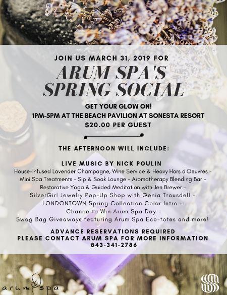 Arum Sp a Spring Social