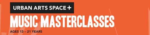 UAS+ Music Masterclass logo