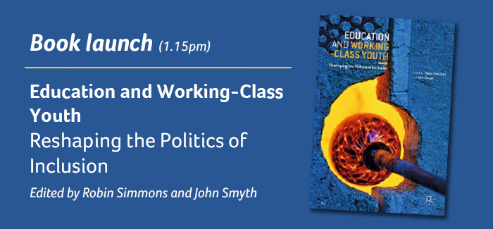 Book launch, Education and Working-Class Youth