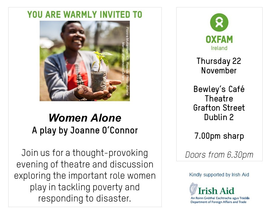 Women Alone - invite