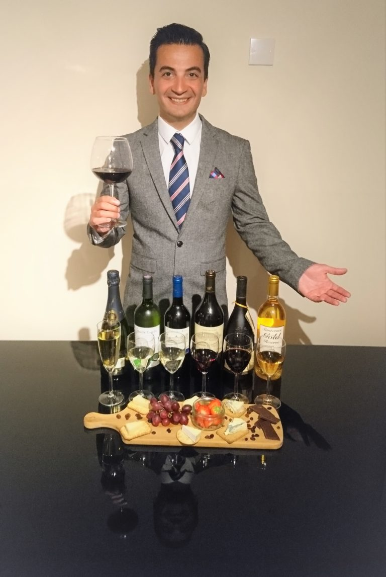 Virtual Champagne, Wine and Vintage Port Tasting with Kam Zadeh