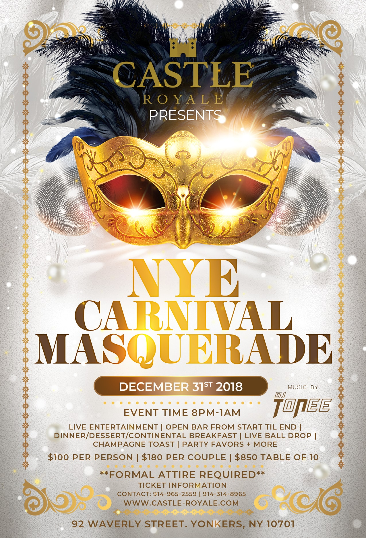 CARNIVAL MASQUERADE AT CASTLE ROYALE