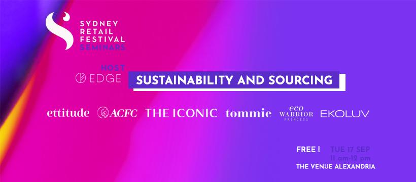 Sustainability and Ethical Fashion