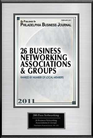 Business Journal Plaque